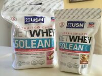 USN Diet Whey Isolean 2kg - FREE DIET WHEY 454G BAG SPECIAL OFFER