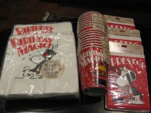 NEW Snoopy Birthday/Party Supplies
