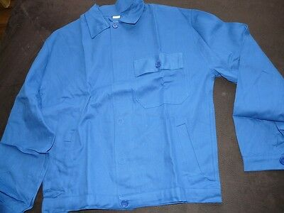 Arbeitsjacke Berufsjacke, royalblau, Made in Europe, Gr. 62