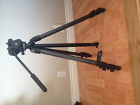 Zeiss Carbon Tripod with Fluid Head. Made By Manfrotto