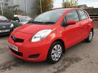 2009 Toyota Yaris Hatch 5Dr 1.33VVTi 101 SS TR 6 Petrol red Manual