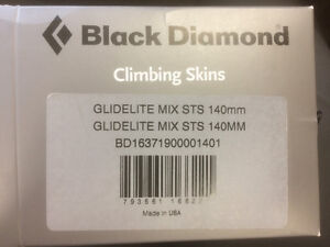 Skins - Black Diamond MIX STS 140mm-new in box