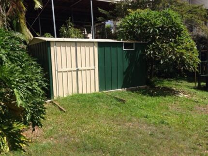 New custom made kit sheds waz steel and sheds enoggera for Garden shed qld