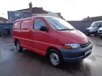 TOYOTA HIACE 2.4 D | POWERVAN GS | SWB | RED | 2001 MODEL