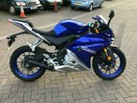 2018 YAMAHA YZF R125 ABS BLUE LEARNER LEGAL 2400 MILES--DELIVERY AVAILABLE