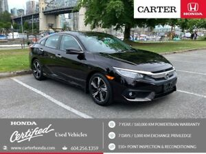 2016 Honda Civic Touring + MAY DAY SALE + CERTIFIED!