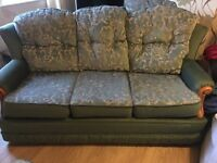 3 piece suite sofa an 2 chairs as new unused mint