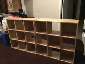 Closemaid Stackable Cubes (9) Shelving for sale