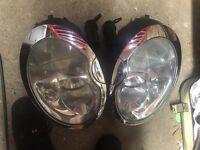 Mini Cooper r50 xenon headlights