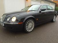 2007 Jaguar S-TYPE 2.7D V6 auto SE TD, FULL JAG HISTORY, heated seats,