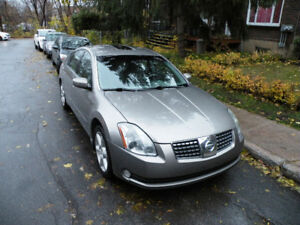 Nissan Maxima 2004 , Automatic, Fully equipped ,Sunroof