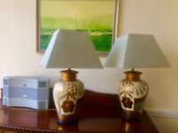 Pair of gorgeous Italian Table Lamps