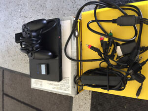 PlayStation PS2 with Gran Turismo + 2 Steering Wheels