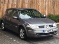 2005 '55' Renault Megane 1.5dCi 86 Dynamique, 5 Door Hatchback, Diesel.