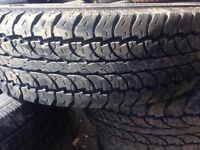 4 nice 215/75/15 all terrain tires for sale!!!