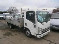 2009 ISUZU NKR 77 GRAFTER 3.0TD DROPSIDE FLATBED PICKUP TRUCK MITSUBISHI CANTER