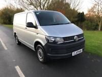2017 66 VOLKSWAGEN TRANSPORTER 2.0TDI T28 ONLY 19,000 MILES 1 OWNER SILVER