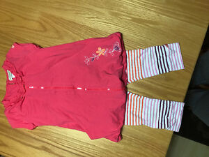 Girls size 6 Krickets Capri outfit