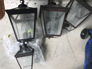 Outdoor lanterns - lovely coach lights