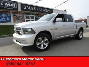 2014 Ram 1500 Sport   4X4, HEMI, NAVIGATION, LEATHER, SUNROOF!