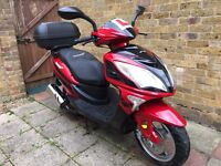 Lex moto FMS 125cc 65 plate scooter only 1800km