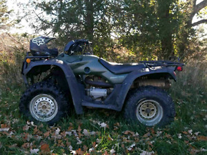 2004 honda rancher 350 5 speed