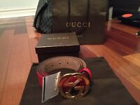 Gucci Guccisma Belt With Receipt