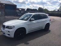BMW X5 m sport auto alpine white immaculate condition