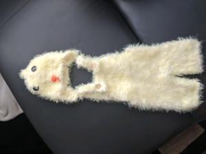 Very soft newborn costume