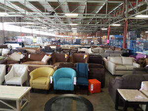 Furniture Liquidation - Huge Savings on Couches and Chairs