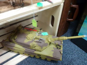 Large Toy Tank with Electronic Sounds Prince George British Columbia image 2