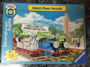 Puzzle - Thomas the Tank Engine - giant floor puzzle Cambridge Kitchener Area image 1