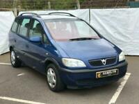 Vauxhall/ Zafira 1.8i 16v 2002 Comfort, 7 Seater, AA Warranty