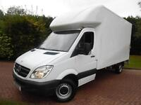 2012 Mercedes-Benz Sprinter 313 2.1 CDI LWB LUTON WITH TAIL LIFT