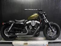 13/13 HARLEY-DAVIDSON FORTY EIGHT 48 XL 1200 X 13 LOADS OF EXTRAS 5,500 MILES