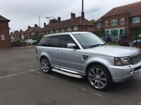 "Range Rover 2.7 silver 21""alloywheels body kit"