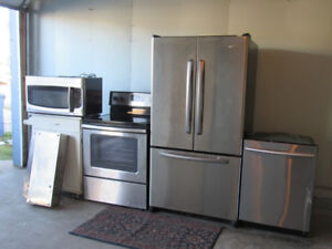 Stainless Steel Appliances set of 5