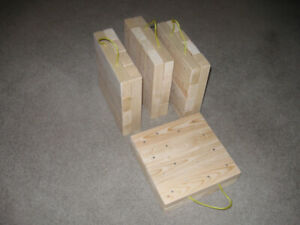 18X18X3 TRAILER JACK PADS SEVERAL SIZES  AVAILABLE