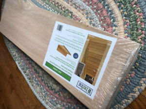 Tread and Riser remodelling kit for closed stairs