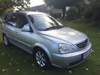 KIA CARENS CRDI LX 12 MONTHS MOT STARTS AND DRIVES PERFECT