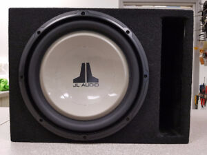 "12"" JL Audio Sub in Ported Box"