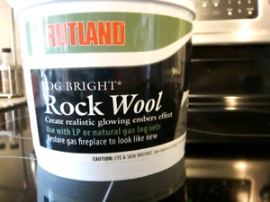 Rock wool for you fireplace