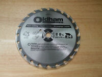 NEW CARBIDE TIP OLDHAM 8-81/4 SAW BLADE