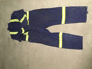 New and used work coveralls