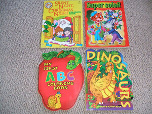 NEW!  Children's Coloring Books-REDUCED