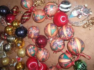 Christmas Tree Ornaments (pink tones) London Ontario image 4