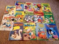 16 Walt Disney, Duck Tales, Goofy & MORE Comics!!