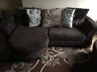 Beautiful DFS fabric sofa at give away price