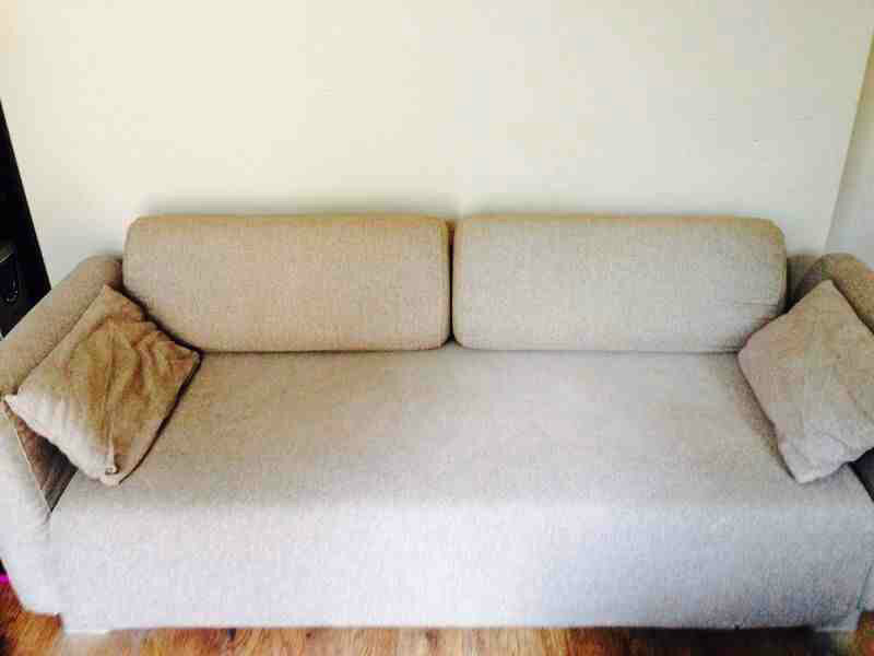 Quick sale ikea single daybed with fold down arms for Sofa arm covers for sale