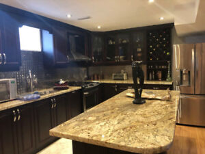 Furnished Basement Apartment  for Short Term Lease